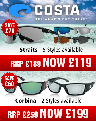 Costa Del Mar Straits and Corbina Sunglasses