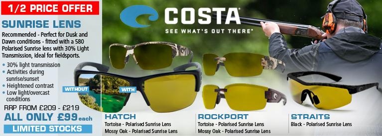 Costa Del Mar Sunrise Lens Sunglasses - Field Sports