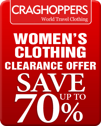 Craghoppers Women's Clothing Clearance Offers