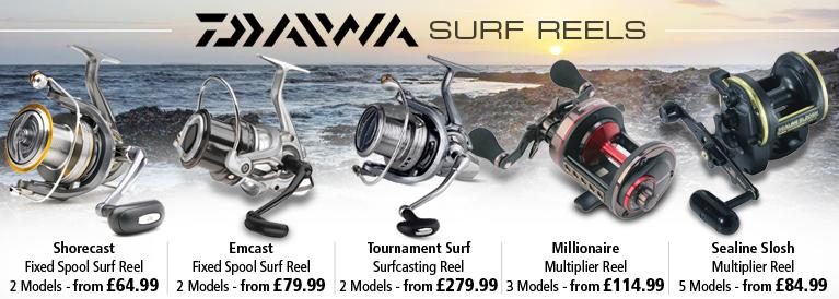 Daiwa Surf Reels