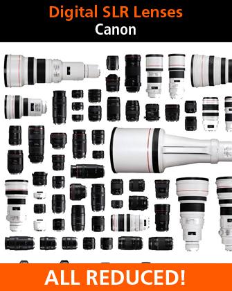 Canon Digital SLR Camera Lenses