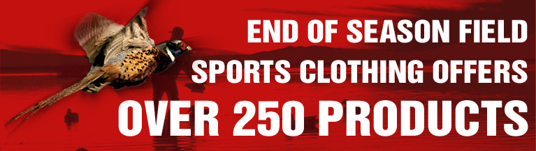 End of season field sport clothing offers