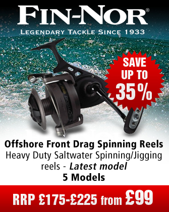 Fin-Nor Offshore Front Drag Spinning Reels