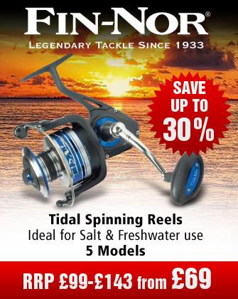 Fin-Nor tidal Spinning Reels