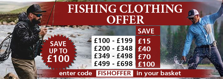 Fishing Clothing Offer