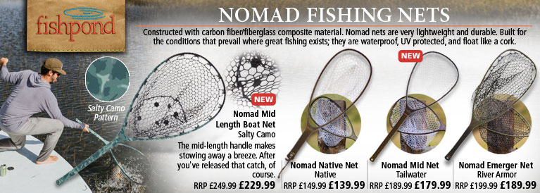 Fishpond Nomad Fishing Nets