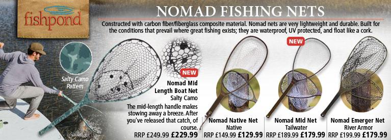 Fishpond Nomad Fishing Nets