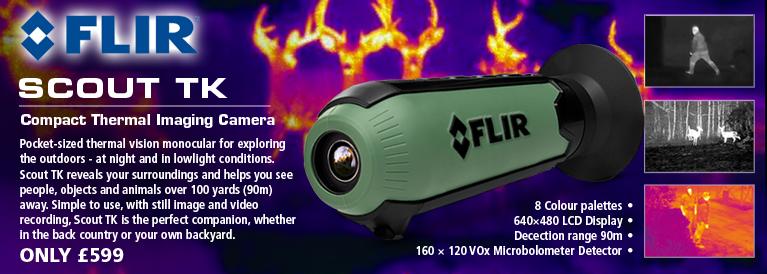 Flir Scout TK Compact Thermal Imaging Camera