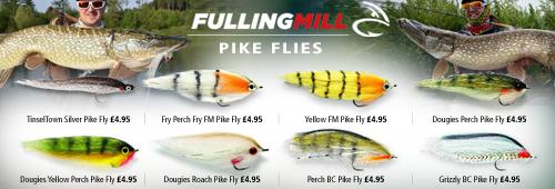 Fulling Mill Pike Flies