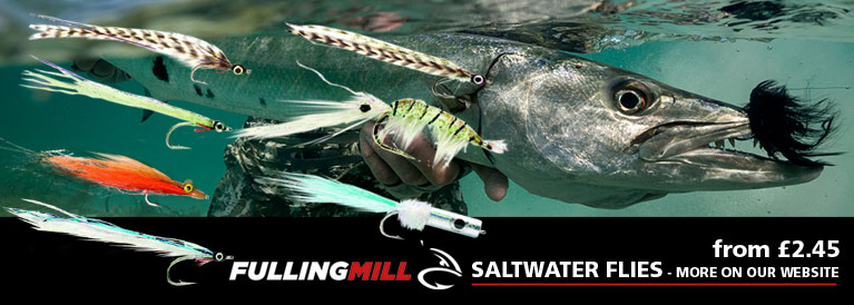 Fulling Mill Salwater Flies