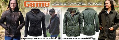 Game Ladies Clothing