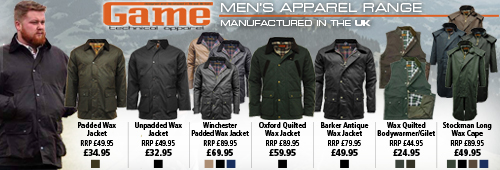 Game Men's Clothing