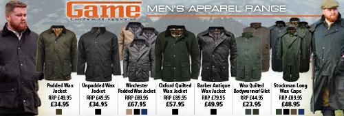 Game Men's Clothing