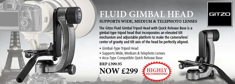 Gitzo Fluid Gimbal Head
