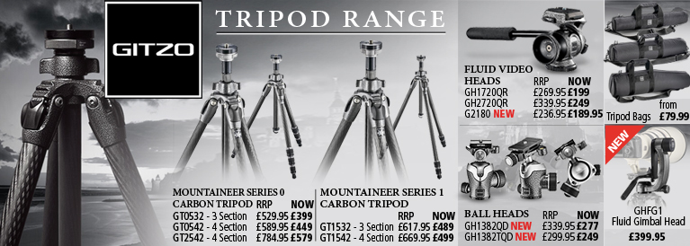 Gitzo Tripod Range