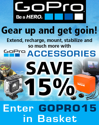 GoPro Accessories Save 20%