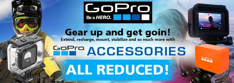 GoPro Accessories Save 20%