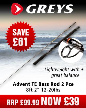 "Greys Advent TE Bass 8'2"" 12-20lbs Rod"