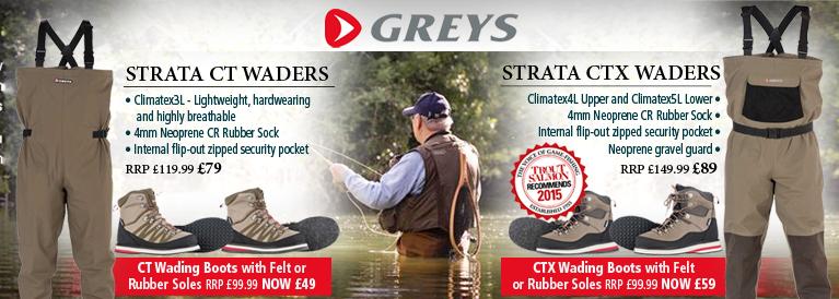 Greys CT and CTX Waders