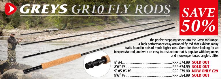 Greys GR10 Fly Rods
