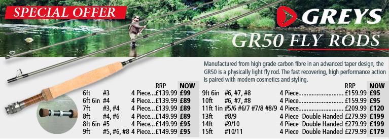 Greys GR50 Fly Rods