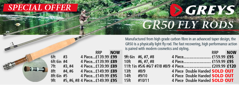 Greys GR50 Fly Rods