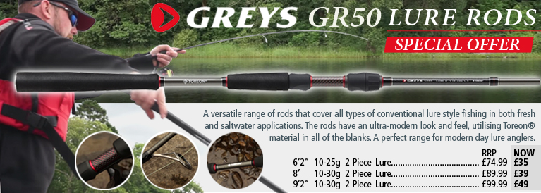 Greys GR50 Lure Rods