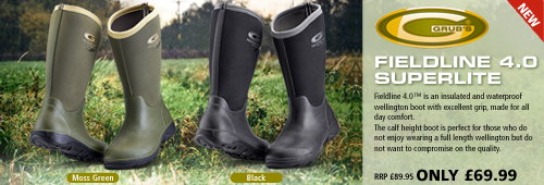 Grubs Fieldline 4.0 Superlite Wellington Boots