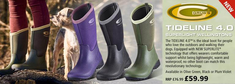 Grubs Tideline 4.0 Superlight Wellington Boots