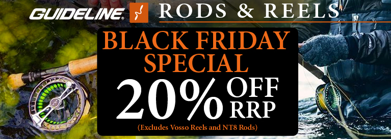 Guideline Fly Rods and Reels Black Friday Special