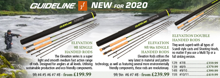 Guideline Elevation Fly Rods NEW for 2020