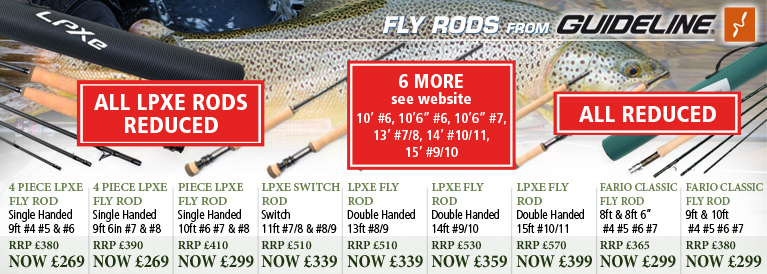 Guideline LPXe and Fario Fly Rods