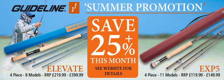 Guideline Elevate and EXP5 Rod Summer Promotion