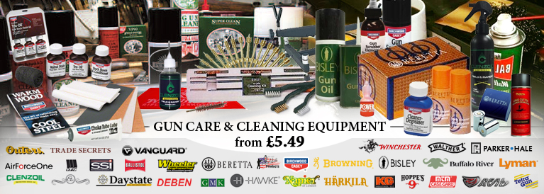 Gun Care and Cleaning Accessories