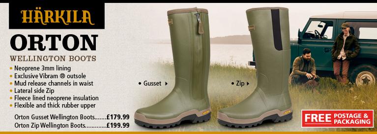Harkila Orton Wellington Boots