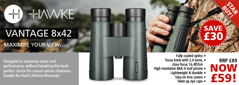 Hawke Vantage 8x42 Binoculars Special Offer