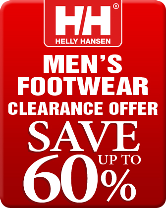 Helly Hansen Men's Footwear Clearance Offer