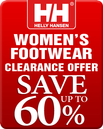 Helly Hansen Women's Footwear Clearance Offer