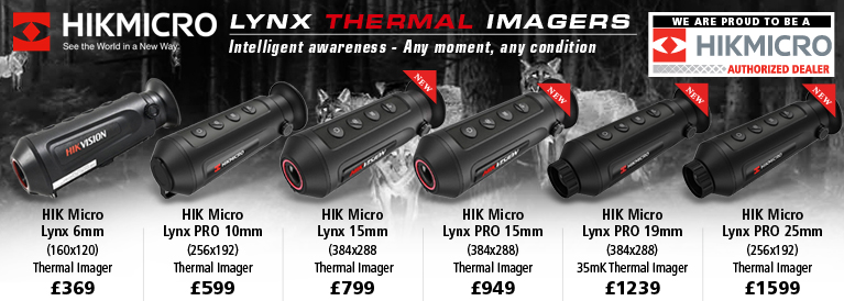 HIK Vision Lynx Thermal Imagers