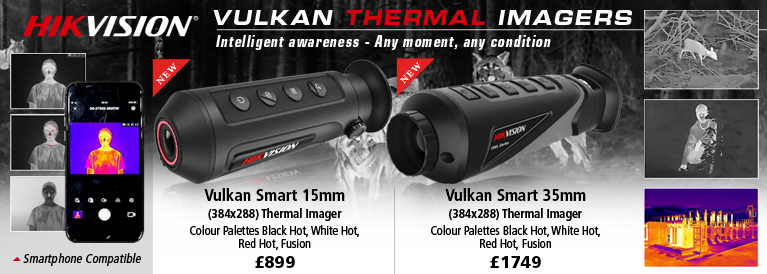 Hik Vision Vulkan 15mm and 25mm Thermal Imagers
