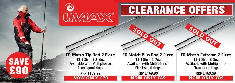 Imax Clearance Rod Offers