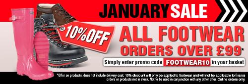 January Sale Footwear
