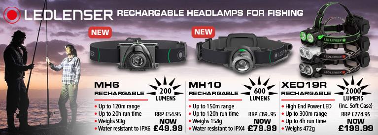 Ledlenser Headlamps for Fishing