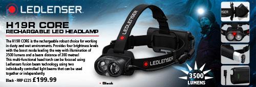 Led Lenser H19R Rechargable LED Headlamps