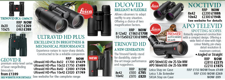 Leica Binoculars and Spotting Scopes