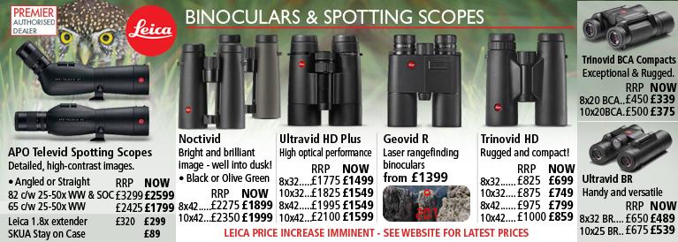 Leica Spotting Scopes and Binoculars