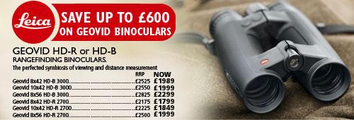 Leica Geovid Binocular Offer