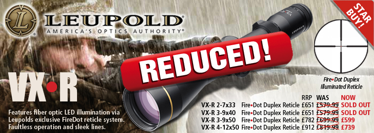 Leupold VX R Cashback Offer