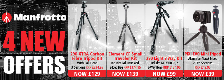 Manfrotto 3 New Offers