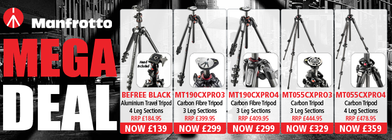 Manfrotto Tripods Mega Deal